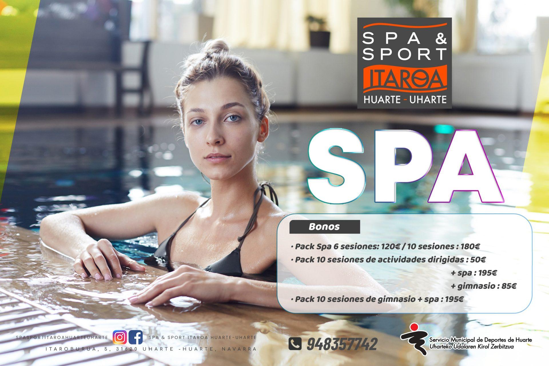 Spa&sport Itaroa Huarte spa promoción 2