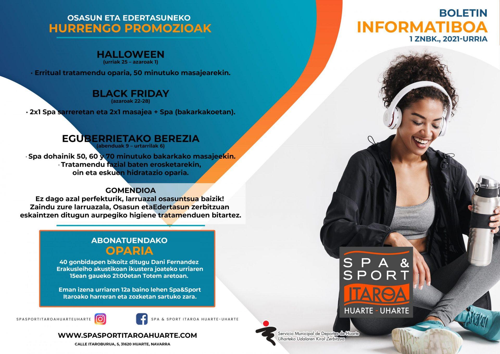 Spa&sportItaroaHuarteBoletíneuskera